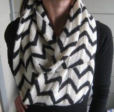 Join the trend with knit infinity scarves! Visit the Craftsy Blog to get inspired by some of our favorite infinity scarf patterns. Click: http://www.craftsy.com/ext/20130307_14_Knitting_1b