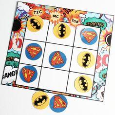 Superhero-Tic-Tac-Toe