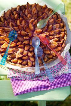 Italian (prune) Plum Tart~A summer of fruit tarts | La Tartine Gourmande