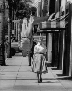 walking down sunset blvd in the old days