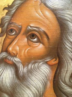Byzantine Icons, Byzantine Art, Hair Icon, Sacred Art, Hair And Beard Styles, Religious Art, Painting Techniques, Oriental, Disney Characters