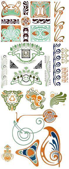 Slow Loris Media » Blog Archive » Art Nouveau & Contemporary Design