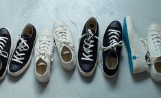 Shoes Like Pottery: Japan's Finest Canvas Sneakers
