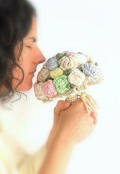 Ramo de novia en tonos pasteles