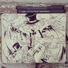 #16 Abracadabra by 365-DaysOfDoodles.deviantart.com on @deviantART