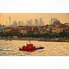Üsküdar kıyılarında... ISTANBUL
