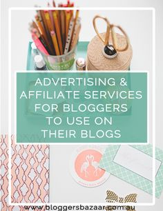 Money / Advertising and affiliate services for bloggers