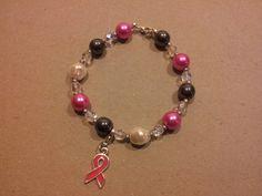 """Bracelat """"Pink Ribbon"""""""