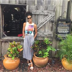 #40plusstyle inspirations: Casual and chic style ideas with wide leg pants | 40plusstyle.com
