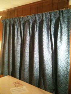 Pinch pleat curtains in Jessica's room 01_26_13