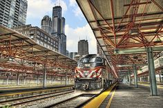 LaSalle Street Train Station, Metra Chicago