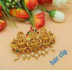 Hair Accessories Trendy Hair Clip For Women Material: Alloy Size: Free Size Description: It Has 1 Piece Hair Clip For Women  Work: Stone & Beads Country of Origin: India Sizes Available: Free Size   Catalog Rating: ★4 (2566)  Catalog Name: Trendy Hair Clip For Women Vol 12 CatalogID_659853 C72-SC1088 Code: 761-4557884-