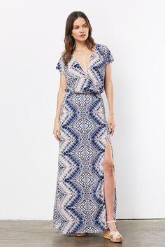 Stardust Slit Maxi Dress