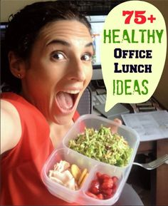 75 Healthy Office Lunch Ideas you are going to LOVE! Start packing healthy offic… 75 Healthy Office Lunch Ideas you are going to LOVE! Save money, waste less, and eat healthier! Healthy Recipes, Lunch Recipes, Healthy Snacks, Healthy Eating, Cooking Recipes, Healthy Hummus, Simple Snacks, Healthy Tips, Think Food
