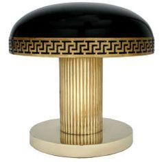 Magnifique lampe de table Art Deco .
