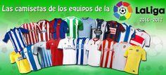 Comprar Camisetas de futbol baratas liga española online