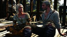 The Witcher 3 Master and Disciple by LarvayneYuno