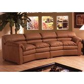 Found it at Wayfair - Canyon Leather Loveseat