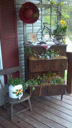 Elementos para un porche de cuento - I love to be organized