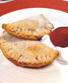 Strawberry raspberry empanadas