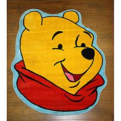 Disney's Winnie the Pooh Yellow Rug (3'3 x 3'11) | Overstock™ Shopping - Great Deals on Disney Accent Rugs