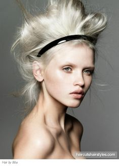 Okay, crazy style but I LOVE the tone of the blond!