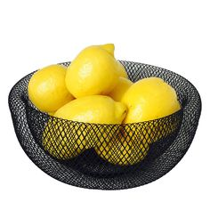 The Iconic Modern Wire Mesh Fruit Bowl, Art Museum Style, Powder Coated Iron, Large, 11', By Whole House Worlds -- To view further for this item, visit the image link.