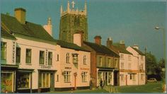 Leicester, Vintage Postcards, 1970s, Past, Middle, Mansions, History, Architecture, House Styles
