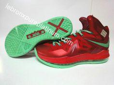 brand new 86fd2 5babc Lebron X Playoffs LeBron X Elite Christmas Lebron Shoes For Sale, Nike Basketball  Shoes,