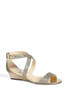 Wedding Shoes Low Heel Sandals Jimmy Choo For 2019 Converse Wedding Shoes, Wedge Wedding Shoes, Beach Wedding Shoes, Sandals Wedding, Low Heel Sandals, Low Heel Shoes, High Heels, Valentino Wedding Shoes, Bridal Shoes Wedges