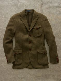 Tweed. Legalize It. Messenger Sport Coat | Ralph Lauren