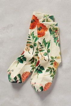 Gardener Ankle Socks - http://anthropologie.com
