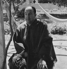 Poet and Diplomat Pablo Neruda