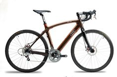 who knew...Audi Duo Wooden Bike
