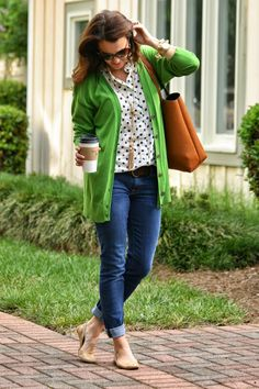 Easy, casual look for fall