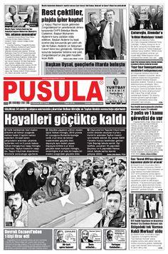 2 Haziran 2017 Cuma Pusula Gazetesi - Zonguldak Haberler