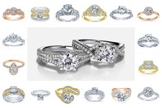 We offer a wide selection of options for customization on our Diamond Engagement Ring Line. Choose from Yellow, White or Rose Gold. Diamond Rings, Diamond Engagement Rings, Or Rose, Rose Gold, Wedding Rings, Jewels, Yellow, Jewelery, Wedding Ring