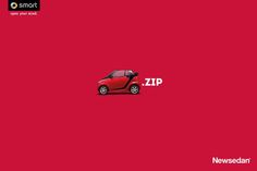 Print advertisement created by Slogan, Brazil for Newsedan, within the category: Automotive. Creative Advertising, Advertising Campaign, Marketing And Advertising, Digital Marketing, Benz Smart, Smart Car, Ad Of The World, Swipe File, Great Ads