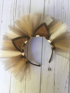Lion headband - lion costume - lion costume accessory - lion ears - lion ears headband - lion mane - Real Time - Diet, Exercise, Fitness, Finance You for Healthy articles ideas Lion Halloween Costume, Lion King Costume, Disney Halloween, Diy Lion Costume, Cowardly Lion Costume, Lion Ears, Dog Lion Mane, Animal Costumes, Diy Costumes