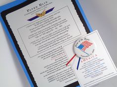 """*Paper Rain* 9-11 Tribute UnFramed Print 8.75x12 w Angel Wings Charm & Bonus Flag Pin. """"PAPER RAIN""""© Powerful and stirring poem created In Remembrance of 9-11. Finished size to fit a 16x20 frame (NOT Included.) Perfect wall décor for the HOME, OFFICE, SCHOOL, ORGANIZATION or any PATRIOTIC Citizen who believes in the USA... Lest We Forget. BONUS! Buy Now and Receive a Commemorative """"Home of the Brave"""" Flag Pin w/Red White & Blue Ribbons on Matching Pin-Card (while supplies last.) READY TO..."""