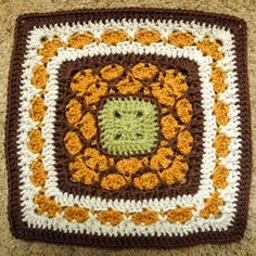 """Ravelry: Beauty In Excellence 9""""/12"""" Afghan Block Square pattern by Margaret MacInnis"""