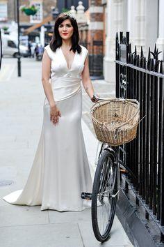 Lena Dress  #lenadress #elizabethtodd #bridal #romantic #wedding #vintage #chilternst #glamour #artdeco