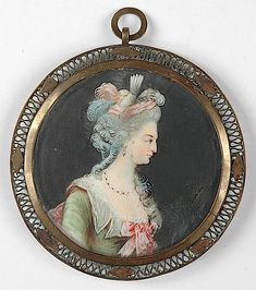 1780s Marie Antoinette miniature (Boris Wilnitsky)    note:  Boris Wilnitsky no longer has this. Presumably they sold it.