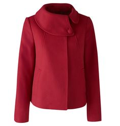 Wallace coat in Red from Jigsaw