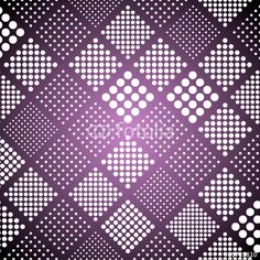 Vector: Dot in square seamless pattern