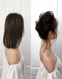 Gorgeous Blackish Color Hairs Short style