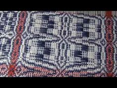 Overshot Gamp Part 2 Tieup and Weave - YouTube