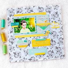Hello ☀️☀️ @marinette_scrap here to share with you my new layout using the #february2016 kits featuring @pinkpaislee C'est la vie, @cratepaper @maggiehdesign #hipkits #hipkitclub #scrapbook #scrapbooking #scrapbooklayout #papercrafting #marinettelesne