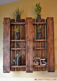 107 Used Wood Pallet Projects and Ideas - Page 2 of 3 - Snappy Pixels