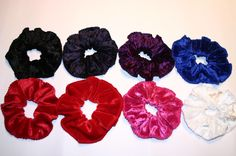 Hair scrunchies :D